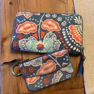 💎Vera Bradley wallet & coin purse